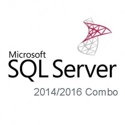 Microsoft SQL Server 2014 and 2016 Combo with 5 CALs