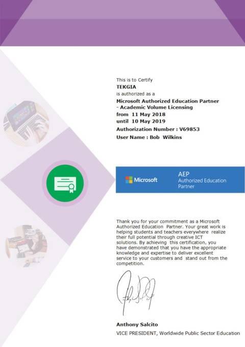 Microsoft Authorisation