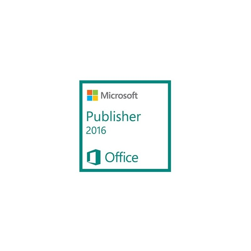 MS Publisher 2016 mac