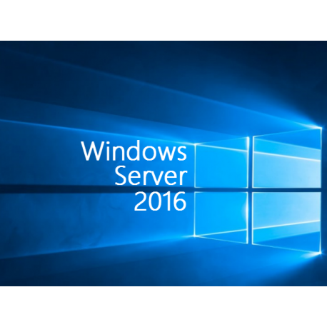 Microsoft Windows Server 2016 Standard with 5 CALs