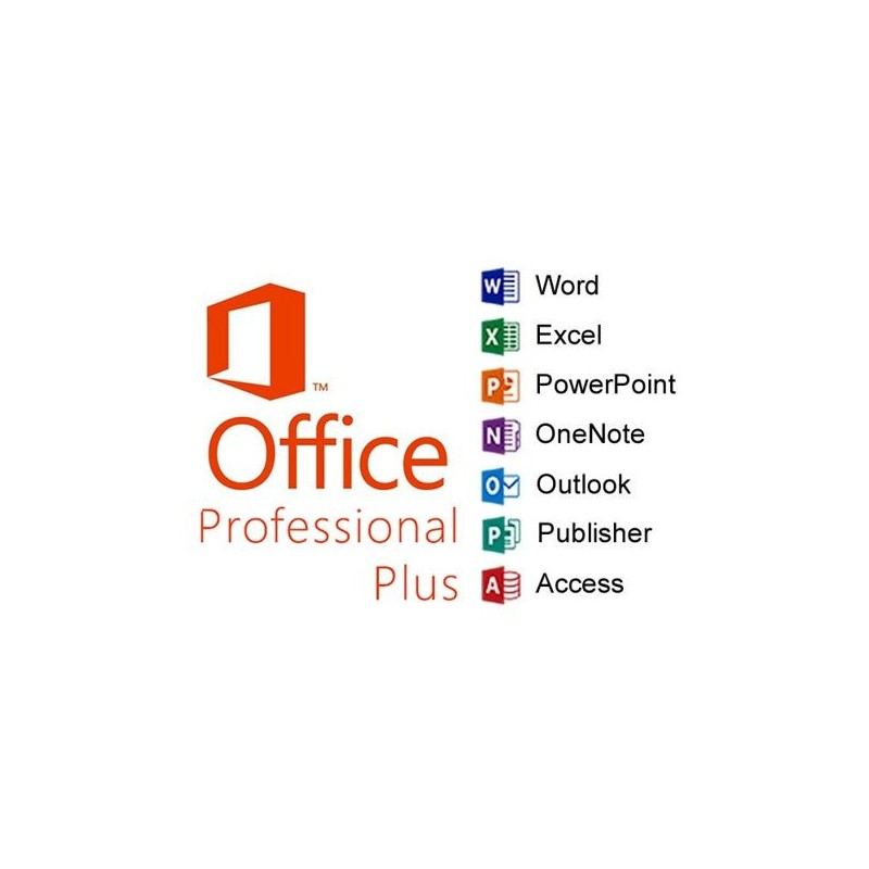 Microsoft Office 2016 Professional Plus for Charities, Churches and  Education - the Most Powerful Office Edition - Tekgia