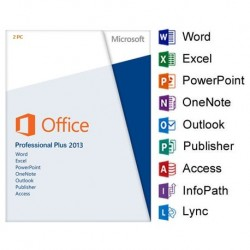 Microsoft Office 2013 Professional Plus for Charities, Churches and Education - the Most Powerful Office Edition
