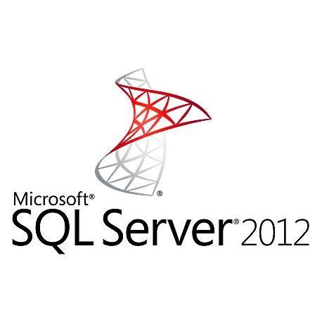 Microsoft SQL Server 2012 Standard with 5 CALs