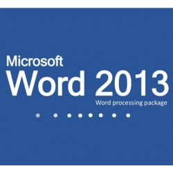 Microsoft Word 2013 for Charities, Churches and Education