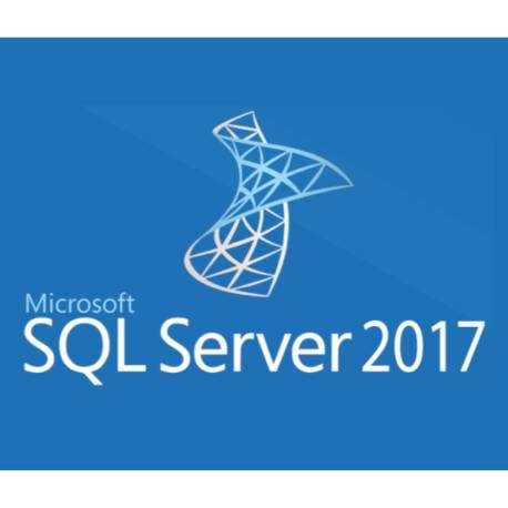 Microsoft SQL Server 2017 Standard with 5 CALs at academic rate