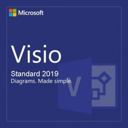 Microsoft Visio 2019 Standard for Charities, Churches and Education