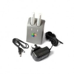 Hitachi Cambridge Interactive Whiteboard Pens and Twin Bay Recharger with Power Supply