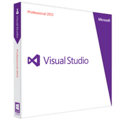 Microsoft Visual Studio 2012 Professional at academic rate